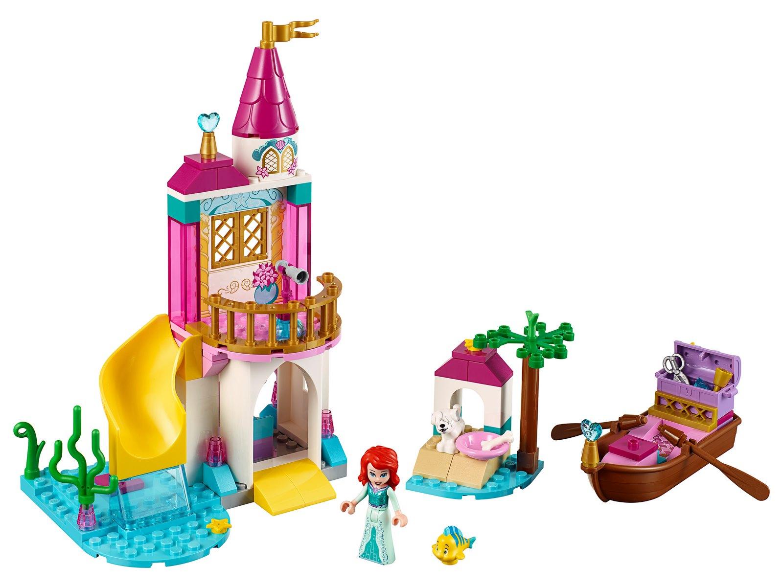 Конструктор LARI «Морской замок Ариэль» 11175 (Disney Princess 41160) 118 деталей