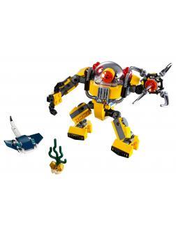 Конструктор JiSi Bricks «Робот для подводных исследований» 3139 (Creator 31090) / 207 деталей