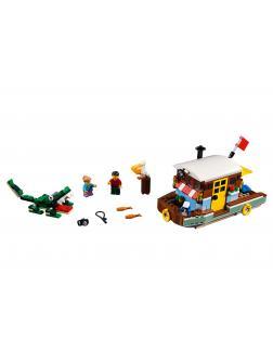 Конструктор JiSi Bricks «Плавучий дом» 3142 (Creator 31093) 406 деталей