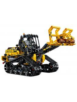 Конструктор Jisi Brick «Гусеничный погрузчик» 13386 (Technic 42094) / 863 детали