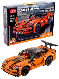 Конструктор JiSi Bricks «Chevrolet Corvette ZR1» 13384 (Technic 42093) / 593 детали