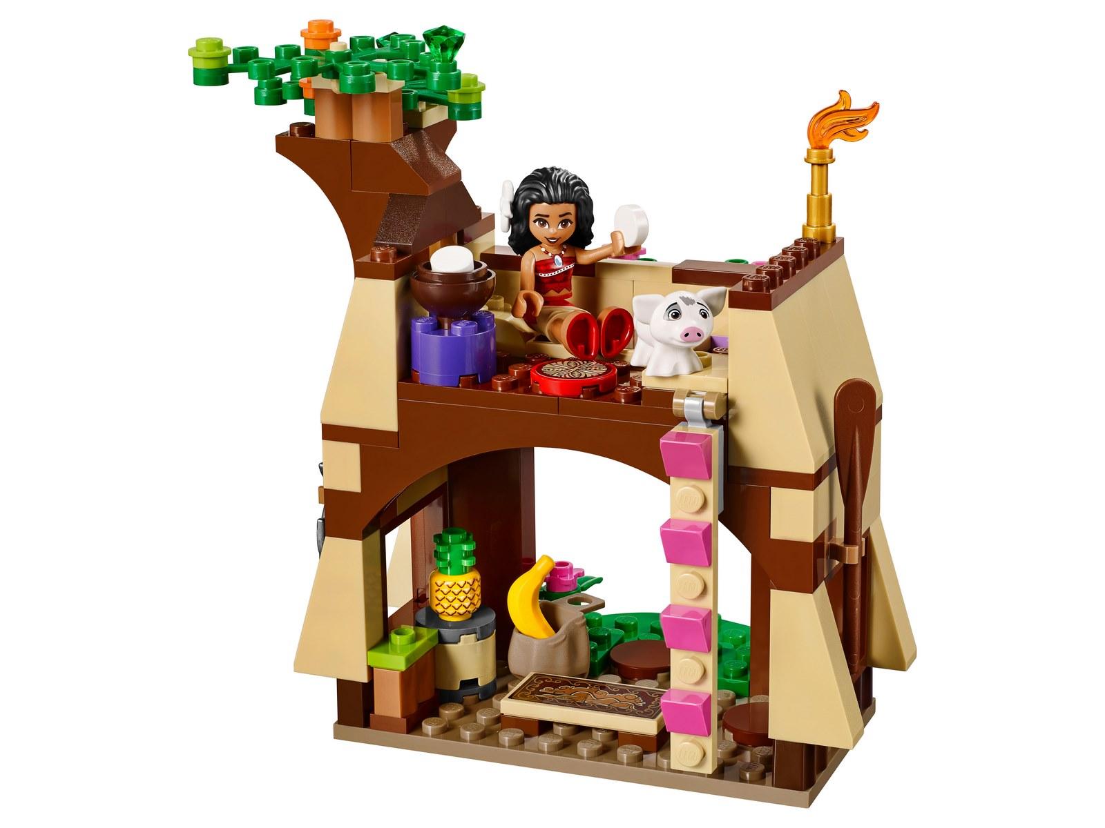 Конструктор Lp «Приключения Моаны на затерянном острове» 25004 (Disney Princess 41149) 221 деталь