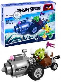 Конструктор «Побег из машины свинок» 10505 (Angry Birds 75821) / 87 деталей