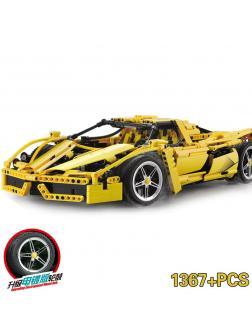 Конструктор Decool «Гоночный автомобиль» 3382B (Technic) 1367 деталей