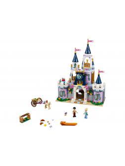 Конструктор JiSi Bricks «Волшебный замок Золушки» 70224 (Disney Princess 41154) / 594 детали