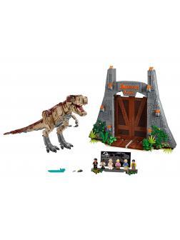 Конструктор JACK «Парк Юрского периода: ярость Ти-Рекса» 61001 (Jurassic World 75936) 3387 деталей