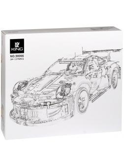 Конструктор King «Porsche 911 RSR» 90066 (Technic 42096) 1770 деталей