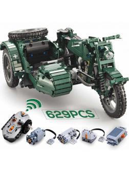 Конструктор Cada «Мотоцикл» радиоуправляемый C51021W 629 деталей