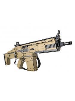 Конструктор Cada «Штурмовая винтовка Scar» C81021W 1406 деталей