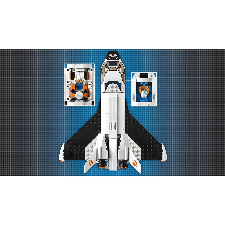 Конструктор JACK «Шаттл для исследований Марса» J30001 (City 60226) 331 деталь