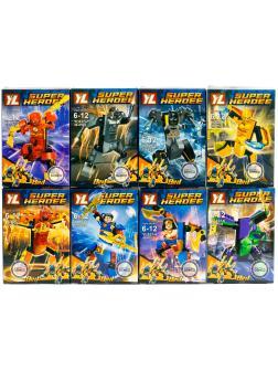 Конструктор YL «Минифигурки Супергероев DC» YL827 (Super Heroes) / 8 шт.