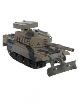 Радиоуправляемый боевой танк с пульками, Play Smart.