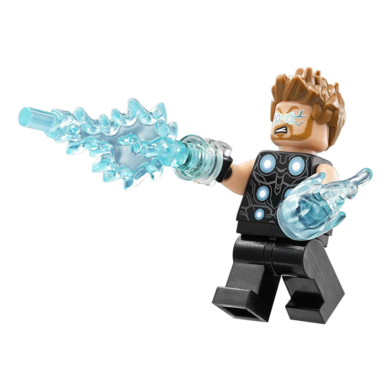 Конструктор Bl «В поисках оружия Тора» 10835 (Super Heroes 76102) / 242 деталей