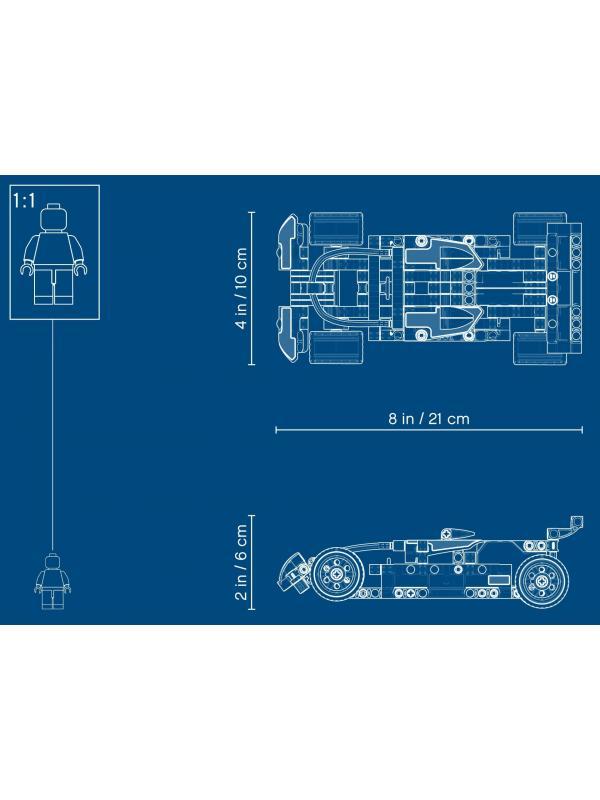 Конструктор Lari «Полицейская погоня» 11294 (Technic 42091) / 120 деталей