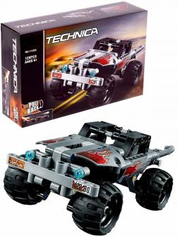 Конструктор Lari «Машина для побега» 11295 (Technic 42090) / 128 деталей
