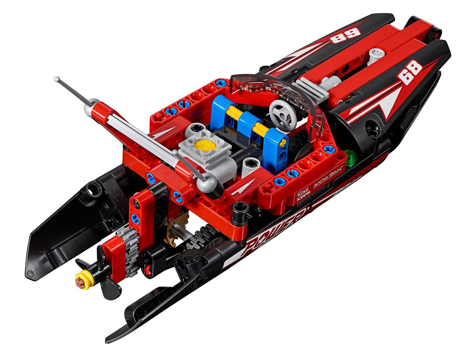 Конструктор LARI «Моторная лодка» 11296 (Technic 42089) 171 деталь