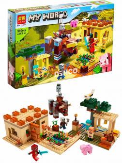 Конструктор Lari «Патруль разбойников» 11477 (Minecraft 21160) / 580 деталей