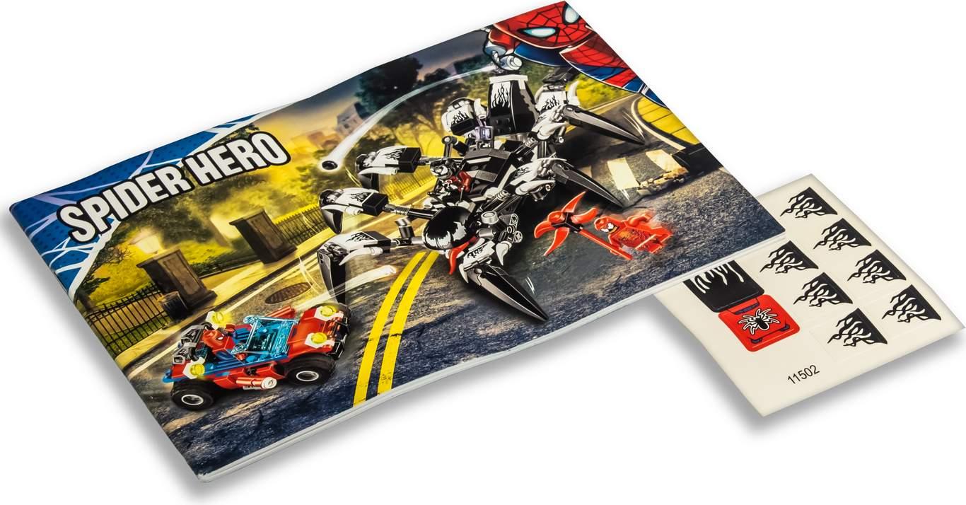 Конструктор Lari «Краулер Венома» 11502 (Super Heroes 76163) / 431 деталь