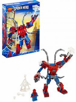 Конструктор Lari «Человек-Паук: трансформер» 11496 (Super Heroes 76146) 166 деталей