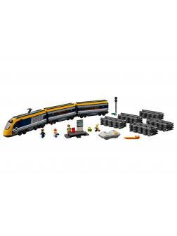 Конструктор Queen «Пассажирский поезд» 82087 (City 60197) 758 деталей