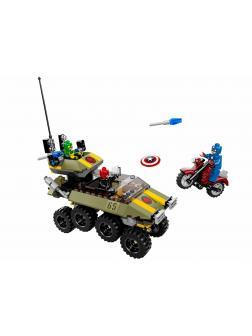 Конструктор Bl «Капитан Америка против Гидры» 10238 (Super Heroes 76017) 171 деталь