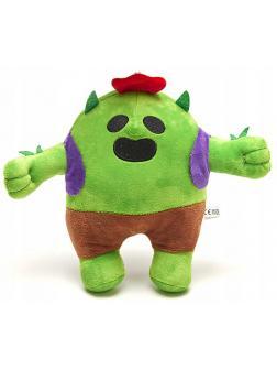 Мягкая игрушка Brawl Stars «Кактус Спайк» 8433 / 21 см