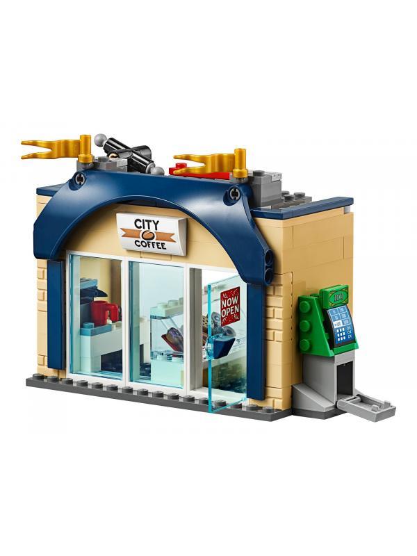 Конструктор Lari «Открытие магазина по продаже пончиков» 11392 (City 60233) / 848 деталей