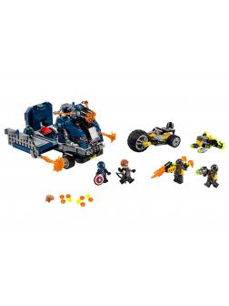 Конструктор Lari «Мстители: Нападение на грузовик» 11506 (Super Heroes 76143) / 501 деталь