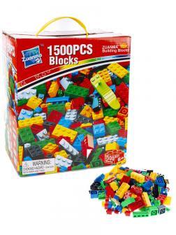 Конструктор Zuanma Building Blocks 1500 деталей