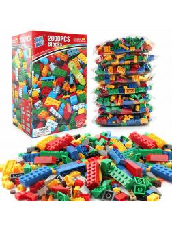 Конструктор Zuanma Building Blocks (Classic) / 2000 деталей