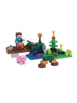 Конструктор Bl «Маленькая ферма» 10188 (Minecraft) 57 деталей