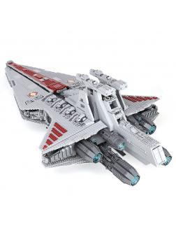 Конструктор KING «Атакующий крейсер республиканцев класса Венатор» 81067 (Star Wars 8039) 6125 деталей