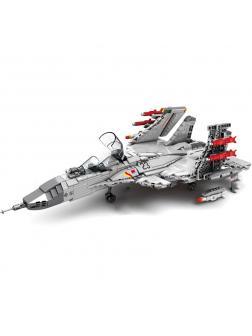 Конструктор Sembo Block «Палубный истребитель J-15» 202055 / 1186 деталей