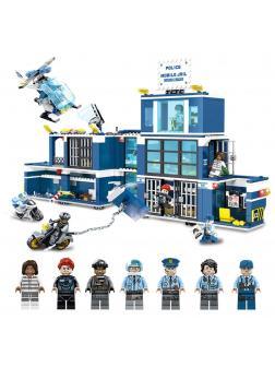 Конструктор Sembo Block «Побег из полицейского участка» SD9816 / 960 деталей