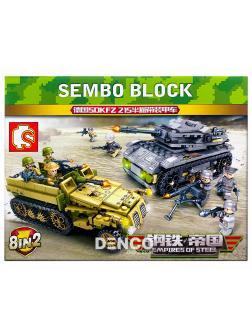 Конструктор Sembo Block «Empires of steel» 101113-20 / 8 видов