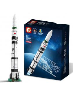 Конструктор Sembo Block «Ракета» 203305 / 2147 деталей