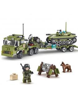 Конструктор Sembo Block «Военная техника» 105210-15 / 6 шт.