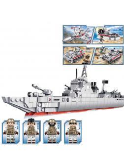 Конструктор Sembo Block «Военная техника» 105421-24 / 4 шт.