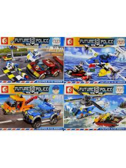 Конструктор Sembo Block «Future Police» 602009-12 / 4 шт.