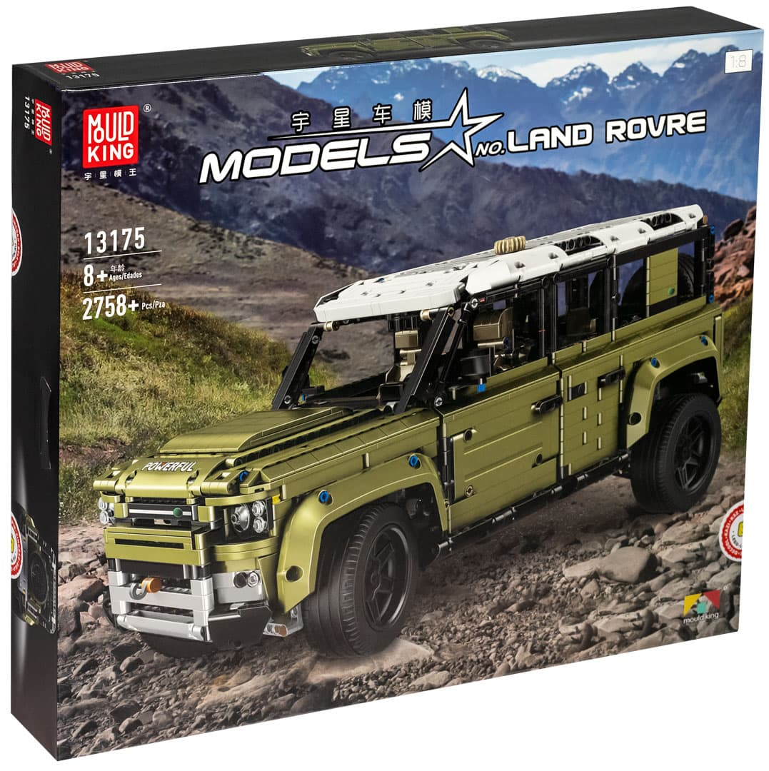 Конструктор MOULD KING «Land Rover Defender» 13175 (Technic 42110) 2758 деталей