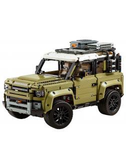 Конструктор DECOOL «Внедорожник Land Rover Defender» 3389 (Technic 42110) 2931 деталь