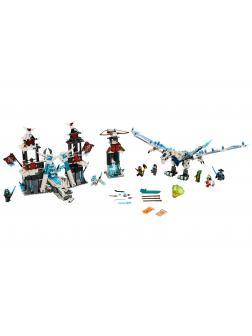 Конструктор PRCK «Замок проклятого императора» 61030 (НиндзяГо) 849 деталей