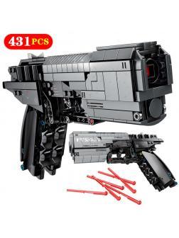 Конструктор Sembo Block «Сигнальный пистолет» 704301 / 431 деталь