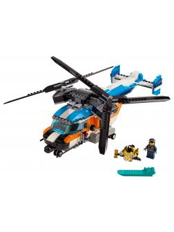 Конструктор LARI «Двухроторный вертолёт» 11400 (Creator 31096) 575 деталей