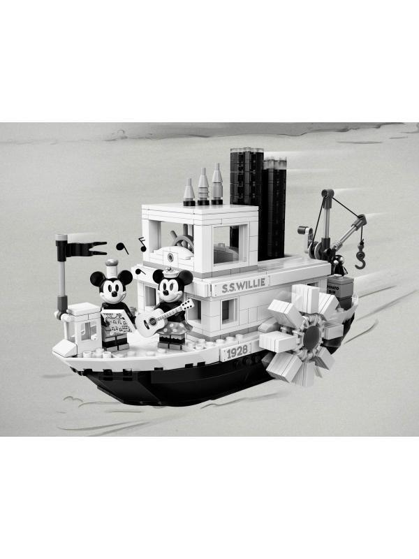 Конструктор Lari «Пароходик Вилли» 11396 (Ideas 21317) / 763 детали