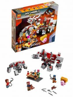 Конструктор Lari «Битва за красную пыль» 11514 (Minecraft 21163) / 528 деталей