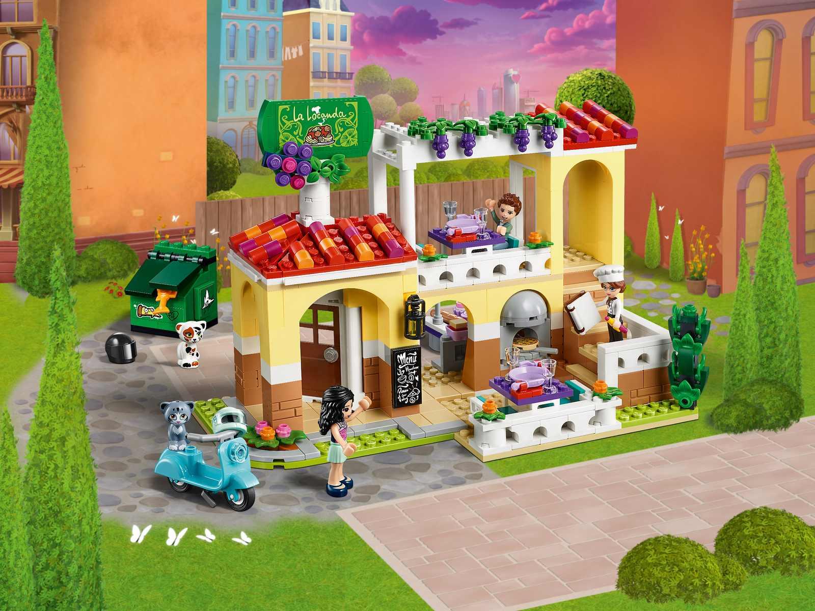 Конструктор Lari «Ресторан Хартлейк Сити» 11379 (Friends 41379) / 647 деталей