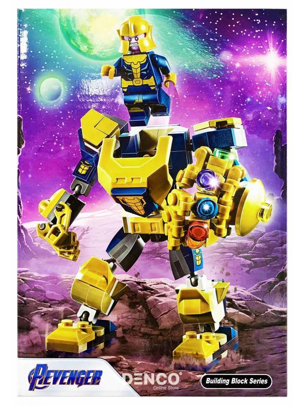 Конструктор Lari «Танос: трансформер» 11504 (Super Heroes 76141) 158 деталей