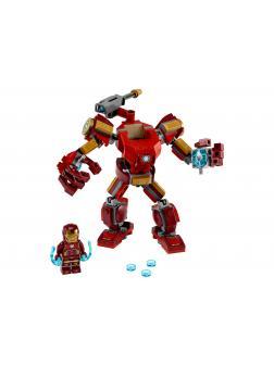 Конструктор Lari «Железный Человек: трансформер» 11503 (Super Heroes 76140) 154 детали