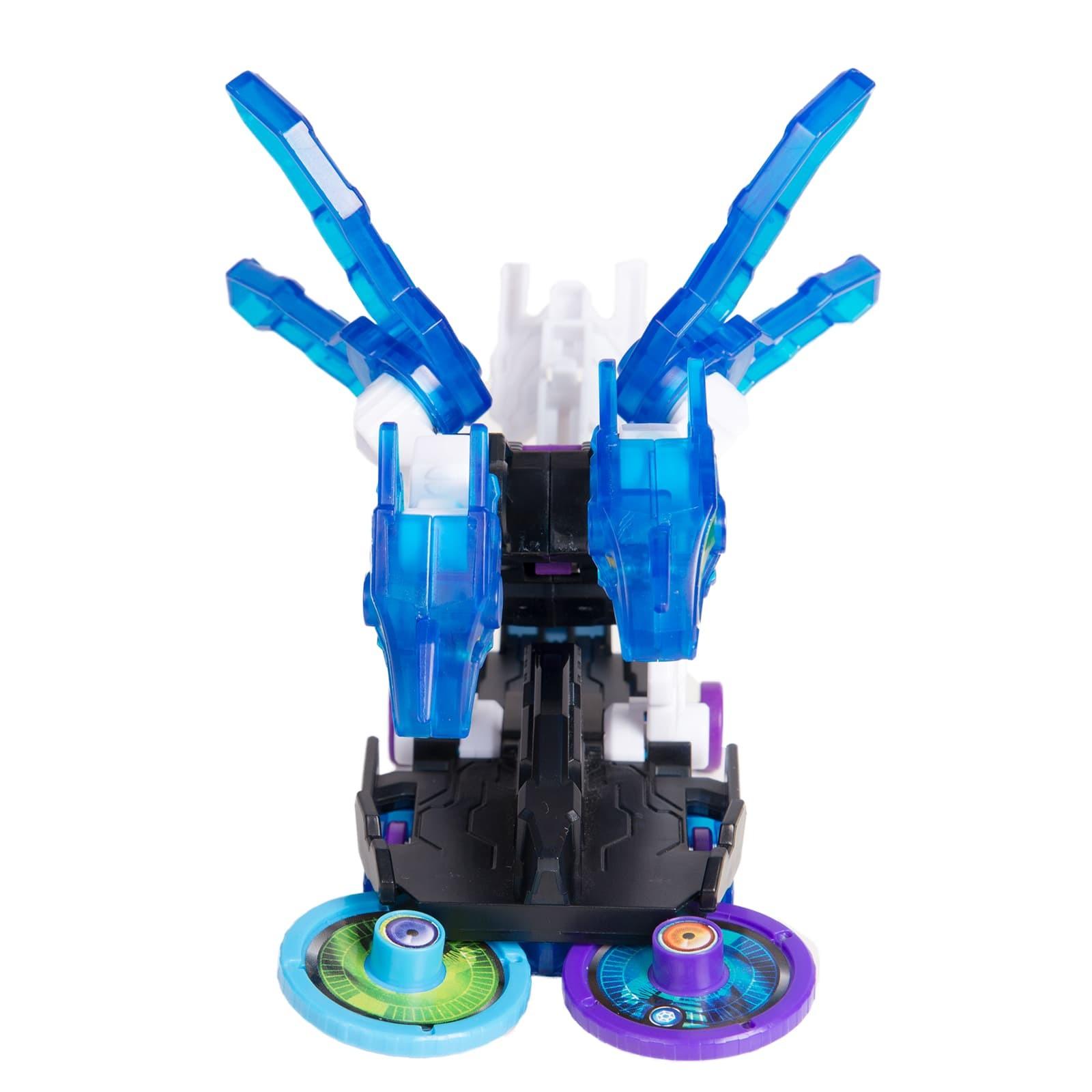 Машинка-трансформер «H2Октан» Дикие Скричеры 3 уровень (Screechers Wild)